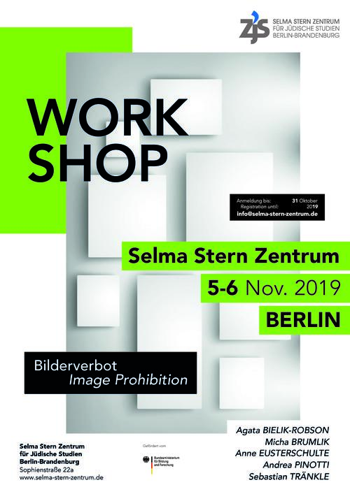 Plakat zum Workshop